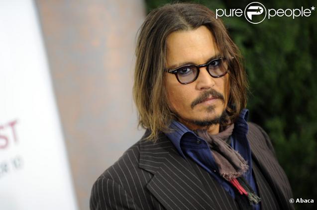 Johnny Depp lors de l'avant-première du film The Tourist à New York le 6 décembre 2010