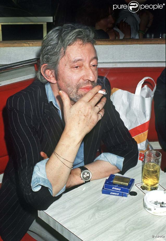 Serge Gainsbourg, Paris, septembre 1987