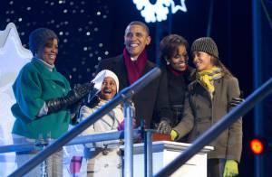 Barack Obama et sa belle famille s'accordent une soirée avec le Père Noël !
