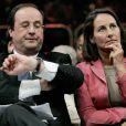 """""""François Hollande et Ségolène Royal lors d'un meeting en mai 2007. """""""