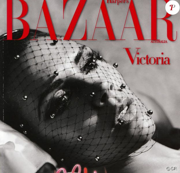 Victoria Beckham en couverture du Harper's Bazaar australien.
