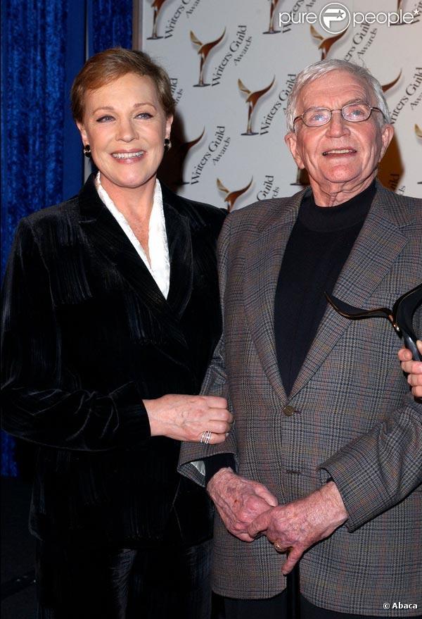 Le grand Blake Edwards, ici avec sa femme Julie Andrews, est mort à 88 ans, le 16 décembre 2010.