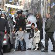 Brad Pitt et Angelina Jolie, Florence, mars 2010