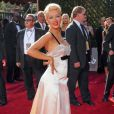 Christina Aguilera aux 59ème Emmy Awards en septembre 2007