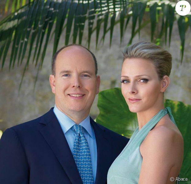 Albert de Monaco et Charlene Wittstock, le 23 juin 2010.