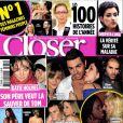 Le magazine  Closer  en kiosques vendredi 24 décembre.
