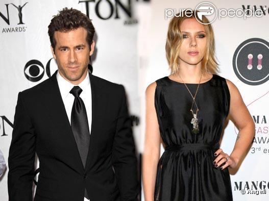 Scarlett Johansson et Ryan Reynolds (montage)