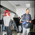 Rihanna et Matt Kemp en septembre 2010