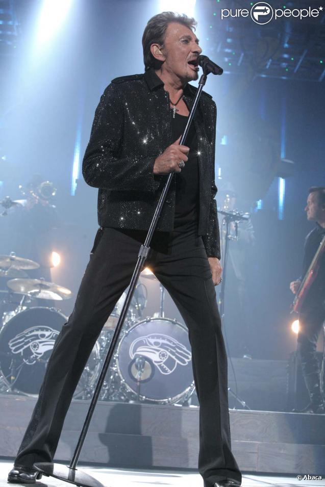 """Johnny Hallyday, """"Tour 66"""", Bruxelles, le 19 mai 2009"""