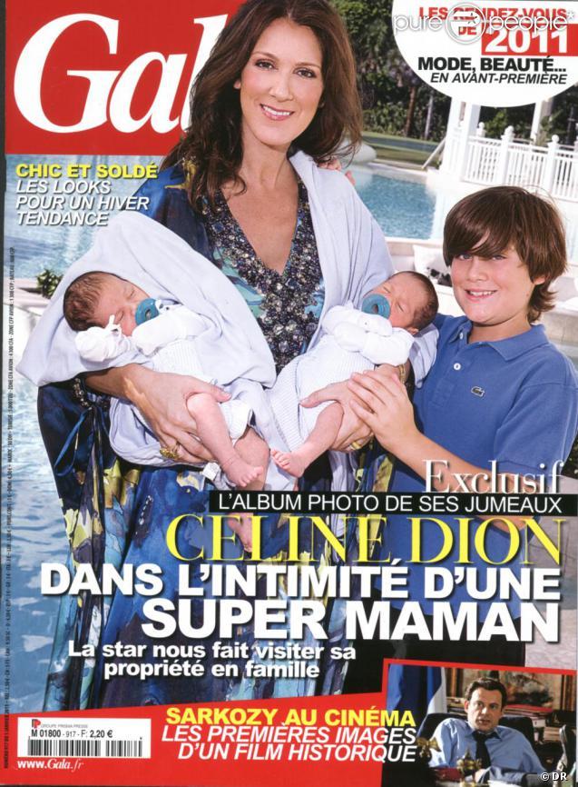 Céline Dion, maman comblée :