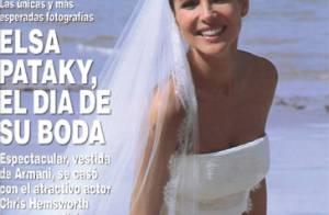 Elsa Pataky se dévoile en robe de mariée, simplement radieuse !