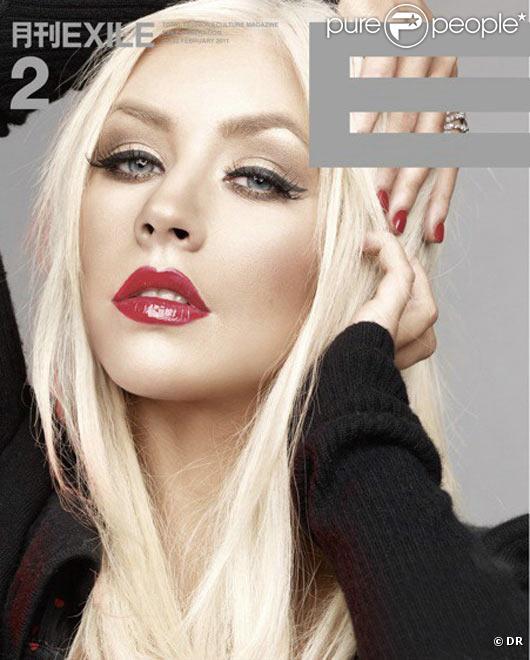 Christina Aguilera fait la Une des couvertures de magazines en 2011.