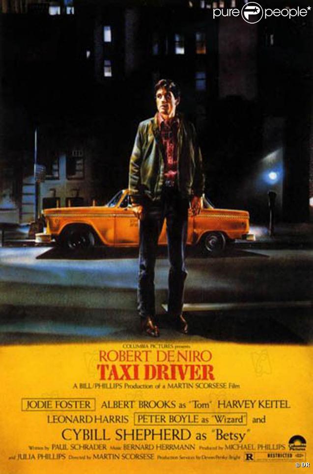 L'affiche de  Taxi Driver.