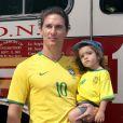 """""""Matthew McConaughey et son petit Levi : deux beaux garçons ! """""""