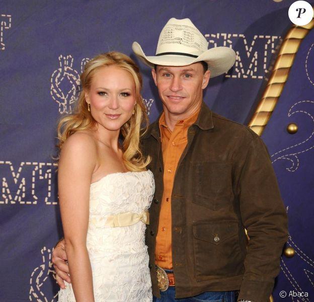 Jewel et son mari Ty Murray en 2008