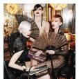 Freja Beha Erichsen, Raquel Zimmermann et Kristen McMenamy pour la campagne Louis Vuitton P/E 2011