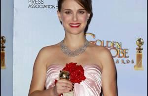 Natalie Portman, magnifique et enceinte, grande gagnante des Golden Globes !