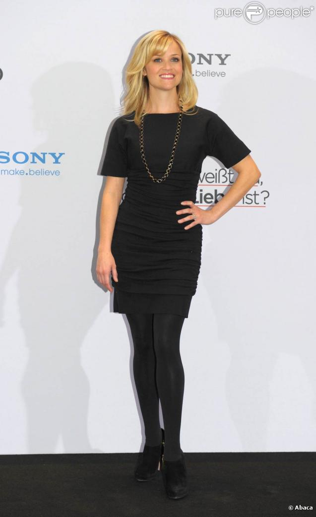 Reese Witherspoon, à l'occasion de la présentation allemande de  Comment savoir ? , à Berlin, le 19 janvier 2011.