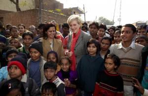 Astrid de Belgique : Son sourire et son engagement illuminent New Delhi !