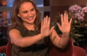 Natalie Portman : Regardez Ellen DeGeneres lui annoncer le sexe de son bébé !