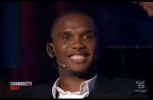 Samuel Eto'o : Pour le remercier, on lui offre un formidable show sexy !