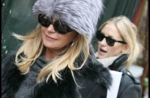 Kate Hudson enceinte : En virée parisienne avec Goldie Hawn et Kurt Russell !