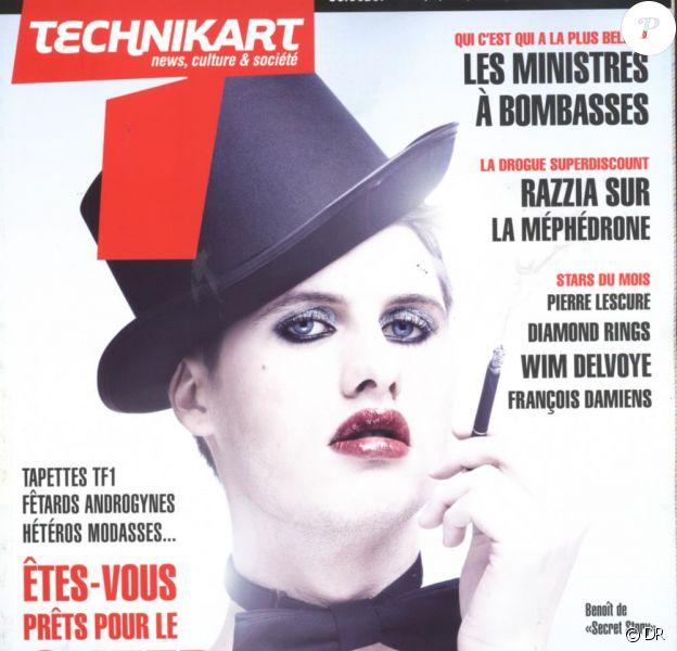 Benoît de Secret Story en couverture de Technikart