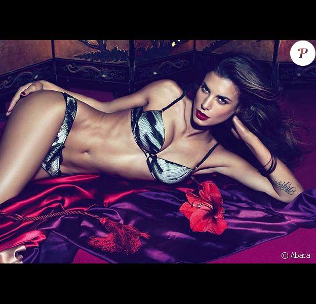 Elisabetta Canalis pour Cavalli underwear printemps/été 2011