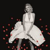 Lara Stone dans la peau de la pulpeuse Marilyn Monroe !