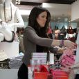 Khloe Kardashian fait du shopping chez Kitson, à Los Angeles, vendredi 4 février.