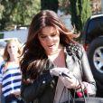 """Khloe Kardashian fait du shopping chez Kitson, à Los Angeles, vendredi 4 février."""