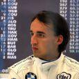 Le coureur automobile polonais Robert Kubica a été victime d'un grave accident lors d'un rallye près de Gênes, en Italie, le 6 février 2011.