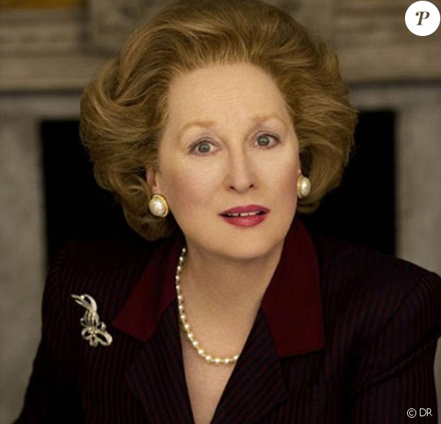 Meryl Streep est Margaret Thatcher dans The Iron Lady.