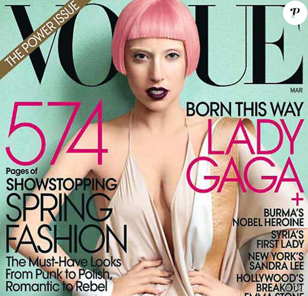 Lady Gaga pour le Vogue américain, mars 2011