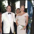 Albert de Monaco et Charlene Wittstock