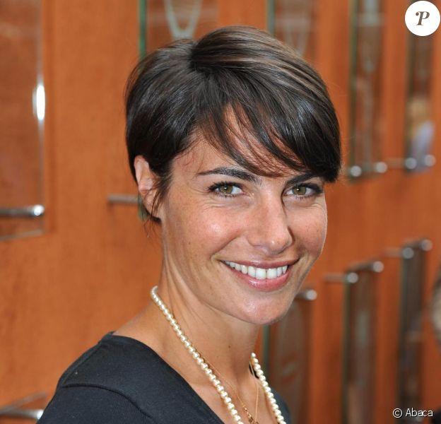 Alessandra Sublet, portée pâle pour l'émission du 17 février 2011
