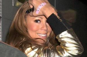 PHOTOS : Mariah Carey est-elle blessée ?