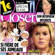 Couverture de Closer, en kiosques le 19 février 2011.