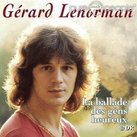 Gérard Lenorman -  La ballade des gens heureux .