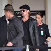 Brad Pitt: La star est arrivée en France... Pas de tapis rouge pour les Oscars ?