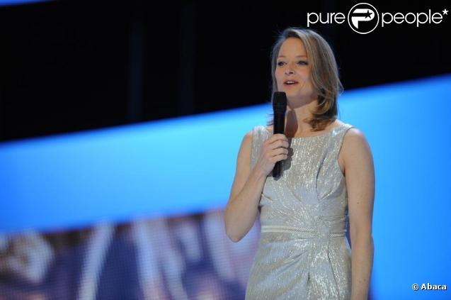 Jodie Foster lors de la 36e nuit des César, vendredi 25 février 2011.