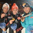 La famille royale norvégienne honore de sa présence les championnats de ski du monde nordique, qui se déroulent jusqu'au 6 mars dans la région d'Oslo.