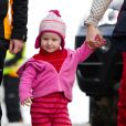 La famille royale norvégienne honore de sa présence les championnats de   ski du monde nordique, qui se déroulent jusqu'au 6 mars 2011 dans la région   d'Oslo.