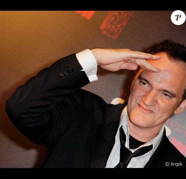 Quentin Tarantino lors de la cérémonie des César le 25 février 2011