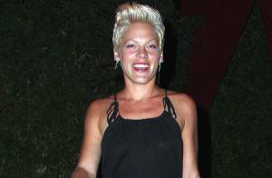 PHOTOS : Pink... morte de rire !