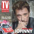 Johnny Hallyday en couverture de TV Magazine du 13 mars 2011