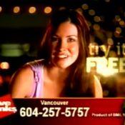 Souvenirs... Avant Lost, Evangeline Lilly pratiquait le téléphone rose !