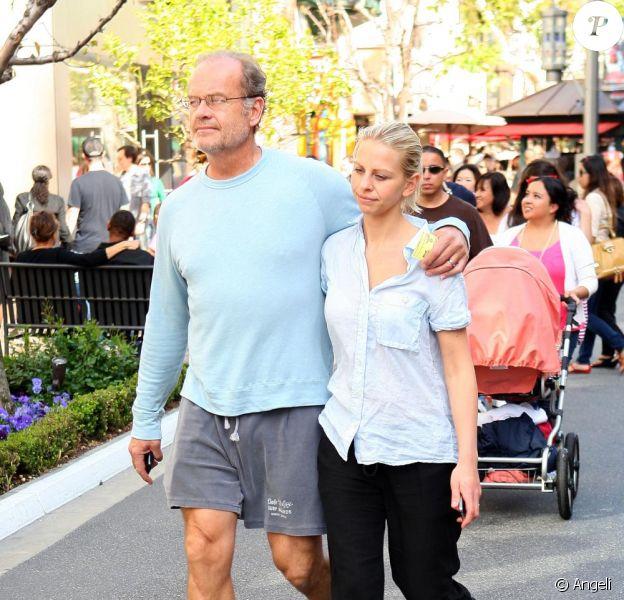 Kelsey Grammer et sa nouvelle femme Kayte Walsh à Los Angeles le 13 mars 2011
