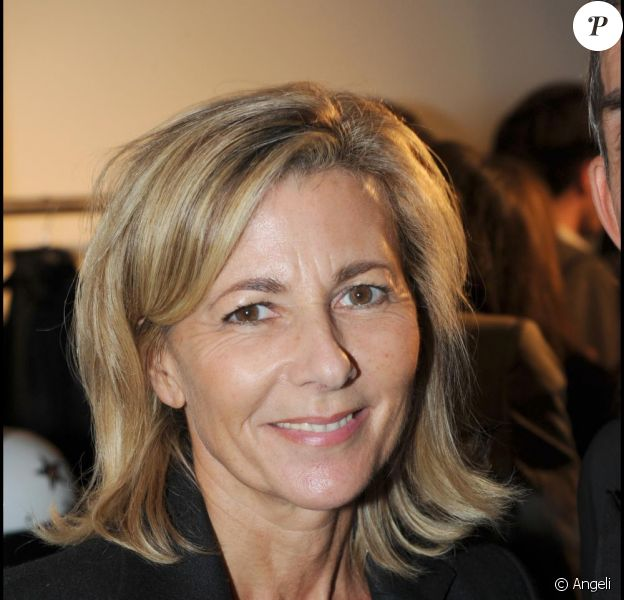 Claire Chazal en septembre 2010, à Paris.