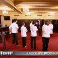 Teaser de la semaine prochaine : Pierre-Sang, Tiffany, Fanny et Stéphanie attendent le verdict... Paul-Arthur est déjà qualifié (épisode de Top Chef du 22 mars 2011)